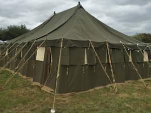 چادر برزنتی نظامی چیست