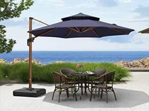 سایبان برزنتی چتری
