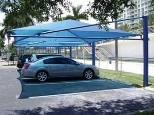 سایبان برزنتی پارکینگ