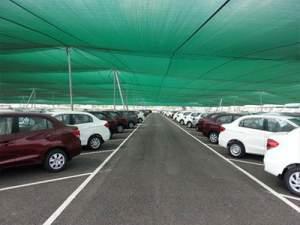 توری سایه انداز پارکینگ